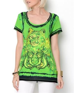 Roberto Cavalli Printed T-Shirt- Made in Italy