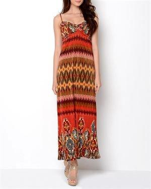 Just Love Printed Long Dress