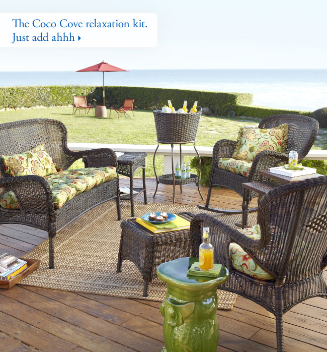 The Coco Cove relaxation kit. Just add ahhh