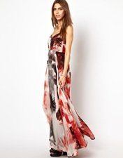 Religion Pattern Olsen Maxi Dress