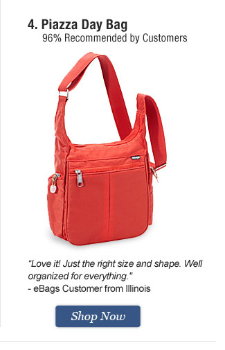 Piazza Day Bag. Shop Now