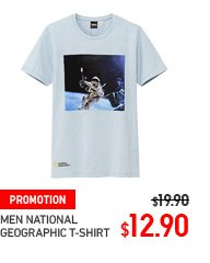 MEN NAT GEO T-SHIRT
