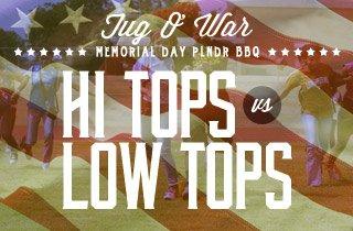 Tug O' War: Hi-Tops Vs. Low-Tops