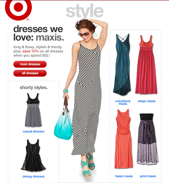 DRESSES WE LOVE: MAXIS.
