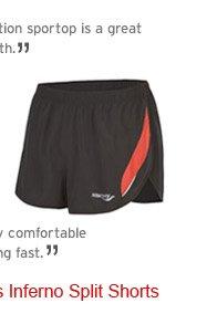 Shop Men's Inferno Split Shorts