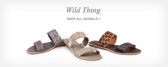WILD THING - Shop all sandals >