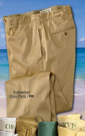 Surfwashed Chino Pants | $98
