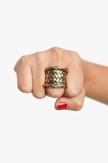 WOVEN RING 7
