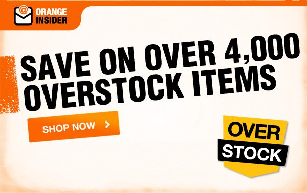 Save on over 4,000 overstock items