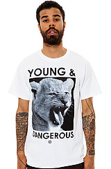 The Young and Dangerous Tee in White