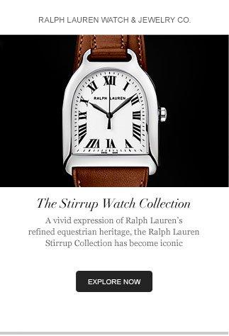 Ralph Lauren Watch & Jewelry
