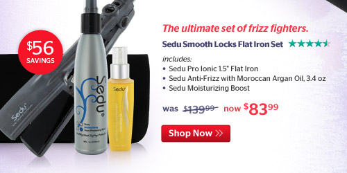 Sed Flat Iron Set
