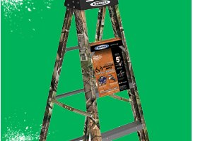 Werner Camo Step Ladder