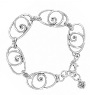 Rock N Scroll bracelet