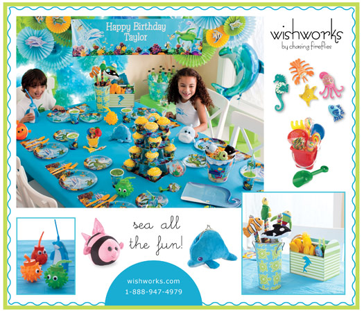 ocean friends party