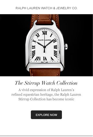Ralph Lauren Watch & Jewelry