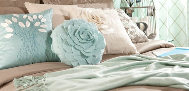 Complete the Bedroom: Add Curtains & Pillows