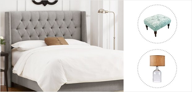 Chic Sleep: Stylized Bedroom Furniture & Accents