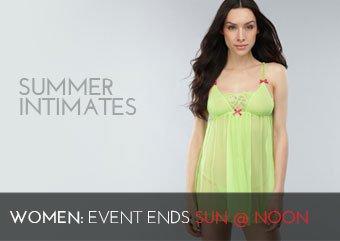 SUMMER INTIMATES - WOMEN