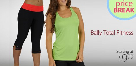 Price break: Bally total fitness
