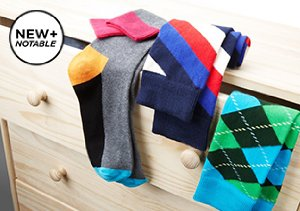 New + Notable: Happy Socks