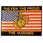 Officially Licensed 'The Few The Proud The Marines' Large 10 Inch Military Patch