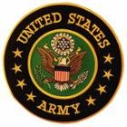 Officially Licensed United States Army 10 Inch Military Patch