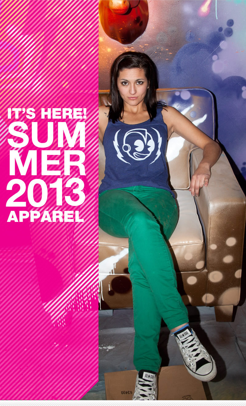 It's here!  Summer 2013 Apparel