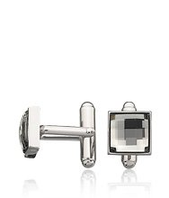 Fasten Black Diamond Cuff Links