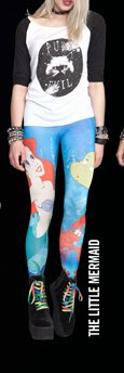 The Little Mermaid Leggings