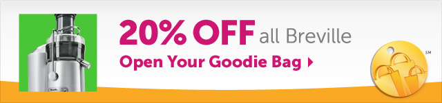 20% OFF all Breville - Open Your Goodie Bag