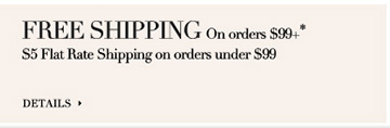 $5 Shipping *