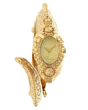 Roberto Cavalli Eva Snake Women's Quartz Watch Made in Switzerland