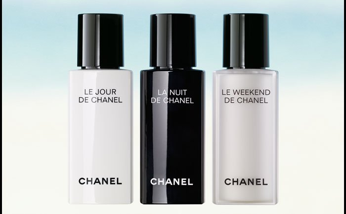RESYNCHRONIZING SKINCARE For Day, Night and Weekend Chanel introduces a unique skincare collection to restore the complexion to its optimal state.