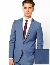 River Island King Fisher Suit Jacket