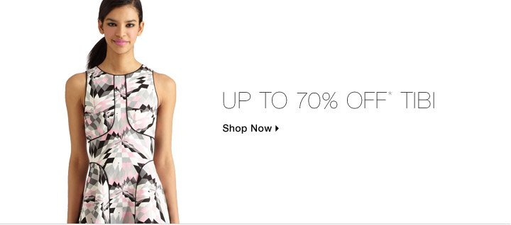 Up To 70% Off* Tibi