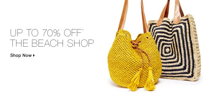 Up To 70% Off* The Beach Shop