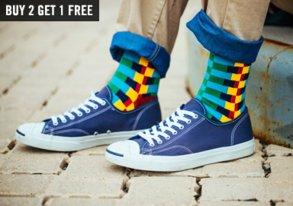 Shop Sock Stock-Up: Buy 2, Get 1 Free