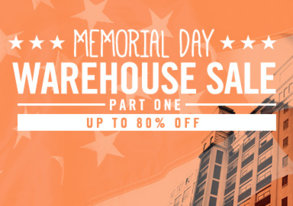 Shop Memorial Day Warehouse Sale: Part I
