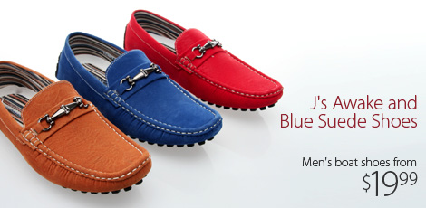 J's Awake & Blue Suede Shoes