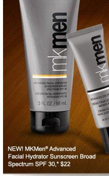 NEW! MKMen® Advanced Facial Hydrator Sunscreen Broad Spectrum SPF 30, *$22