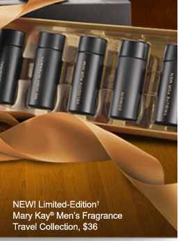 NEW! Limited-Edition† Mary Kay® Men's Fragrance Travel Collection, $36
