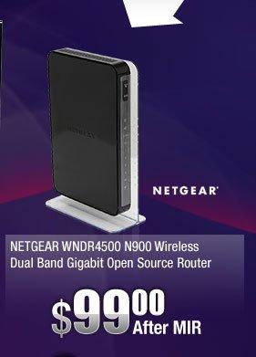 NETGEAR WNDR4500 N900 Wireless Dual Band Gigabit Open Source Router