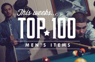 This Week's Top 100 Men's Items