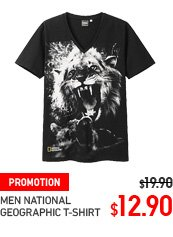 MEN NATIONAL GEOGRAPHIC T-SHIRT