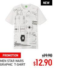 MEN STAR WARS T-SHIRT