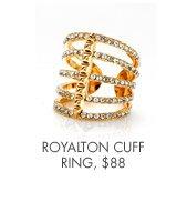 ROYALTON CUFF RING