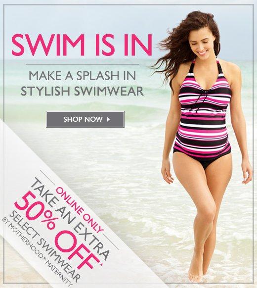 Maternity Swimwear - Extra 30% off Select Styles