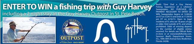 Enter to win a fishing trip with Guy Harvey