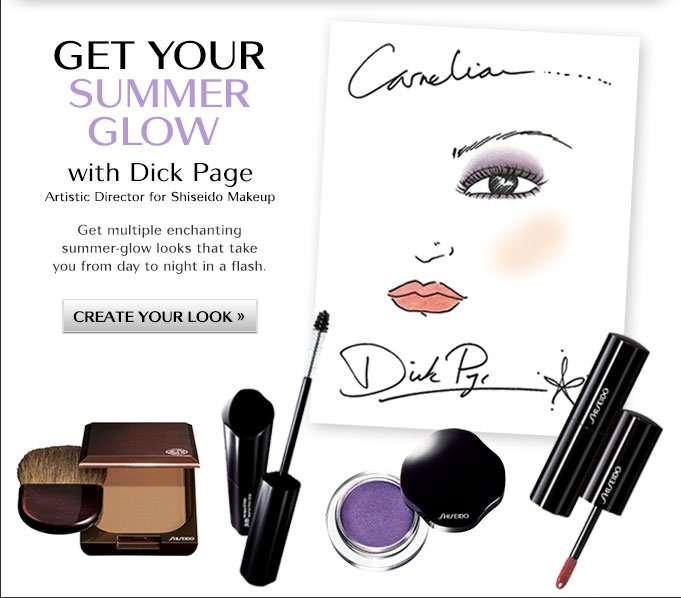 Get Your Summer Glow with Dick Page